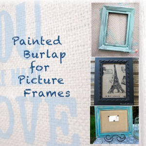 Painted-Burlap-for-Picture-Frames